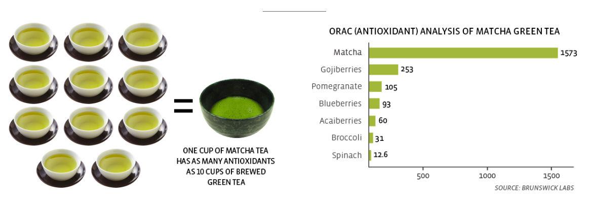 matcha antioxidanter